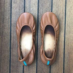 EUC Chestnut Tieks Size 6!